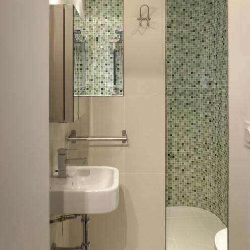 micro salle de bains et maxi douche