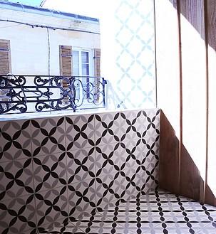 Loggia sur rue - Photo Camille Glorieux