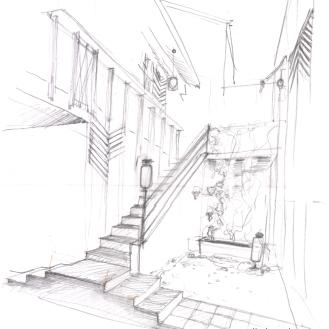 un futur escalier exterieur