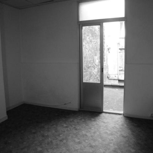ce qui était la chambre
